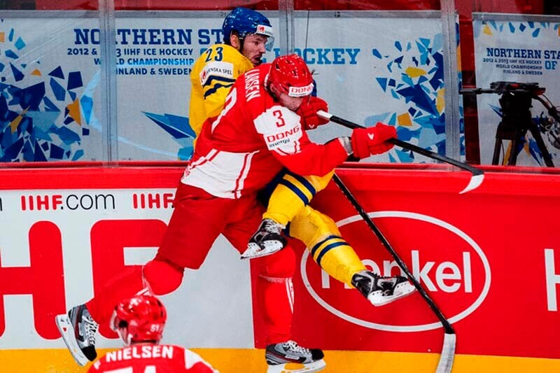 Philip Larsen Danish national ice hockey team